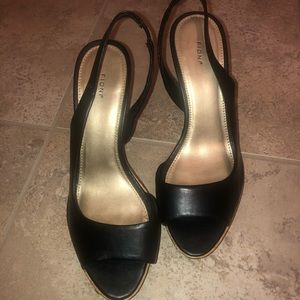 """Fioni faux leather 4"""" Heels"""